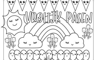 Wat zijn Kawaii tekeningen? ? Download nu de gratis kleurplaat.